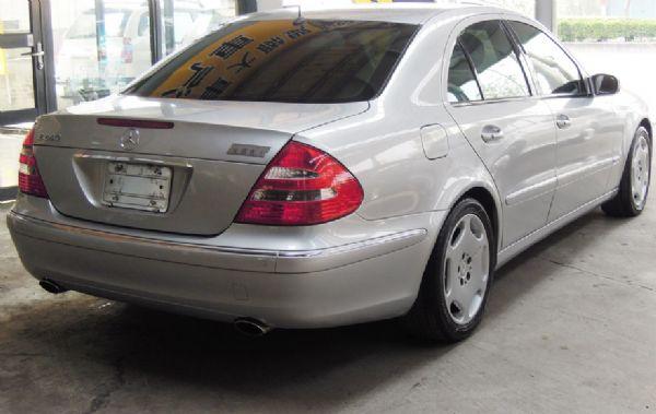 2003 BENZ E240 僑將汽車 照片8