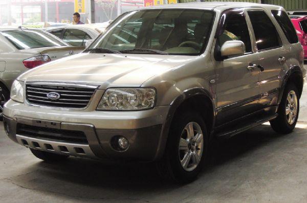 2004 福特 ESCAPE 僑將汽車 照片1