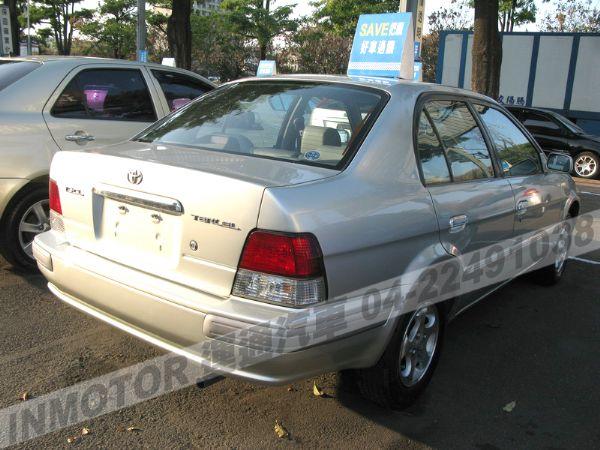 運通汽車-2001年-豐田-Tercel 照片8