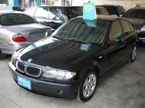 BMW 318I 02年 2.0黑 照片1