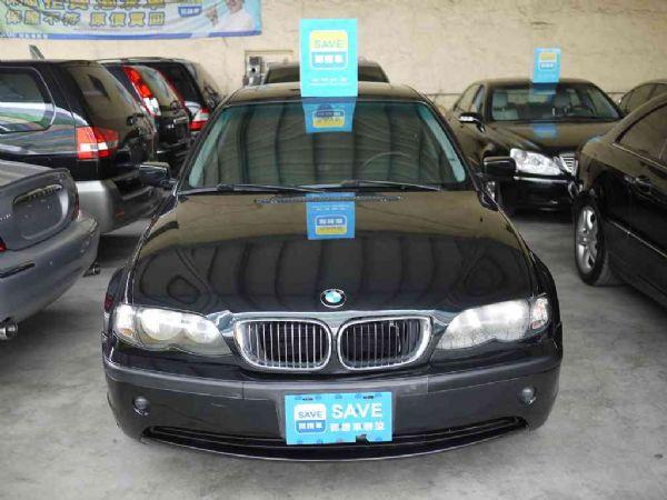 BMW 318I 02年 2.0黑 照片8