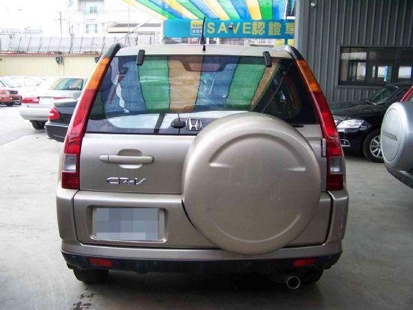 HONDA CR-V 04年 2.0棕 照片10