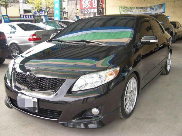 豐田 ALTIS 08年 1.8黑 照片1