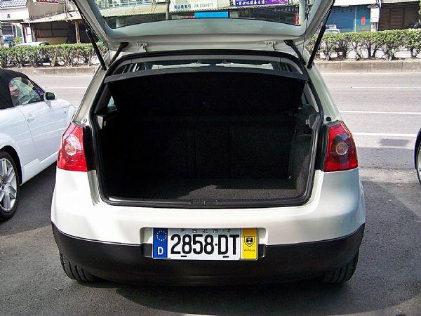VW 福斯 GOLF 04年 1.6白 照片8