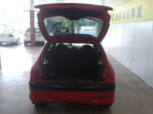 03年Peugeot 寶獅206 天窗版 照片4