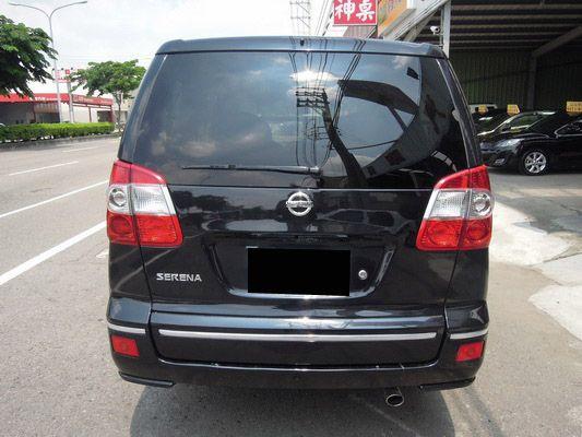 【高鐵汽車】2008 日產 QRV 黑  照片6
