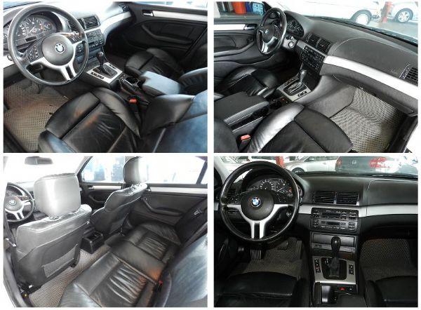 2001年 BMW 寶馬 320 白  照片2