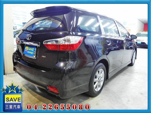 Toyota Wish 金鑽黑 照片10