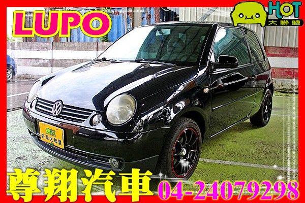 VW 福斯 LUPO 1.4 黑 照片1