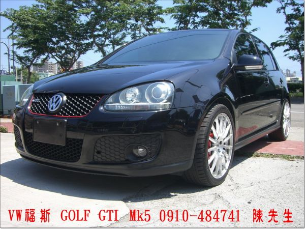 VW福斯  GOLF GTI 5門款 照片1