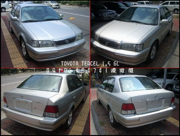 TOYOTA豐田 TERCEL 1.5 照片2