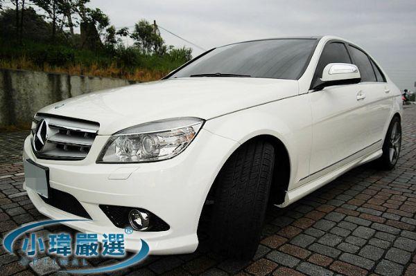 ★小瑋嚴選☆08 Benz C300 白 照片1