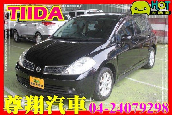Nissan Tiida 1.8 黑 照片1