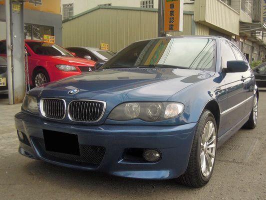 【高鐵汽車】2002 BMW 320 藍 照片2