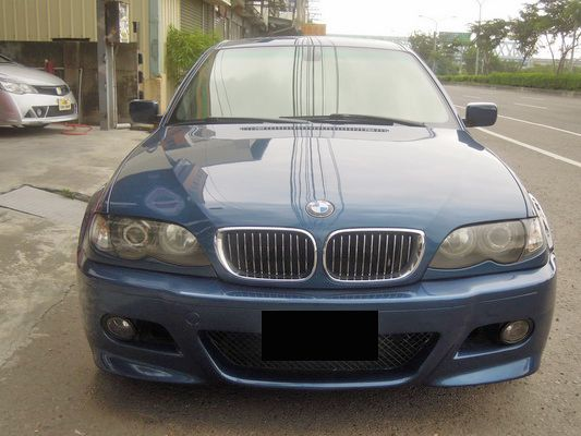 【高鐵汽車】2002 BMW 320 藍 照片3
