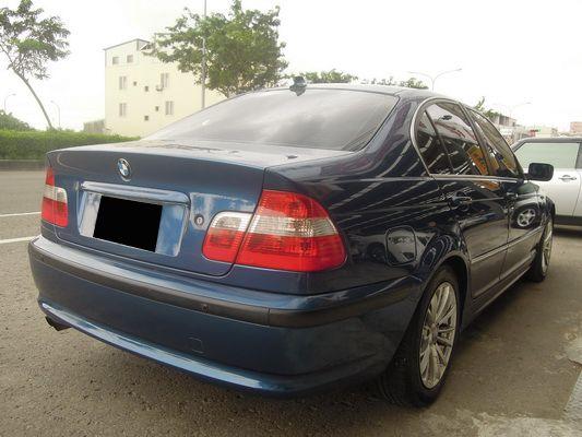 【高鐵汽車】2002 BMW 320 藍 照片8