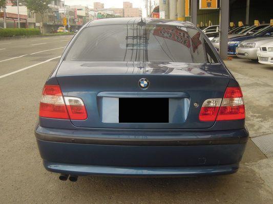 【高鐵汽車】2002 BMW 320 藍 照片9