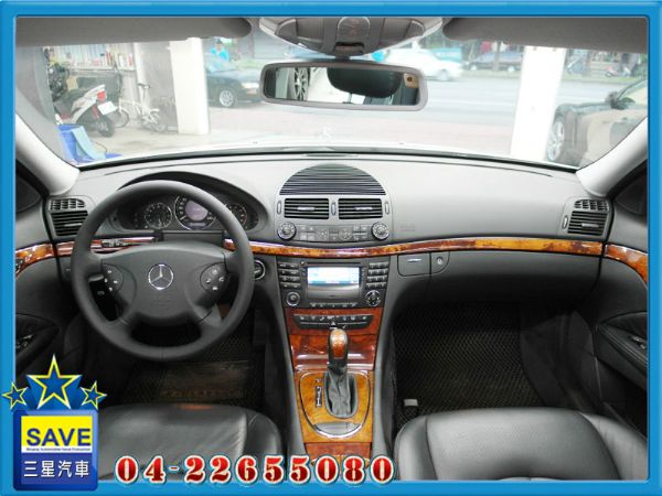 Benz E320 04年 頂級版 照片2