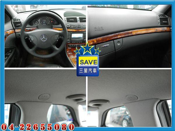 Benz E320 04年 頂級版 照片3