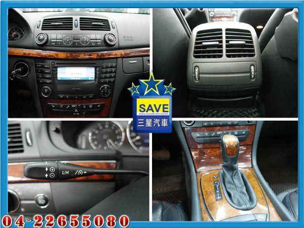 Benz E320 04年 頂級版 照片5