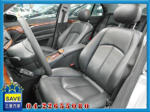 Benz E320 04年 頂級版 照片6