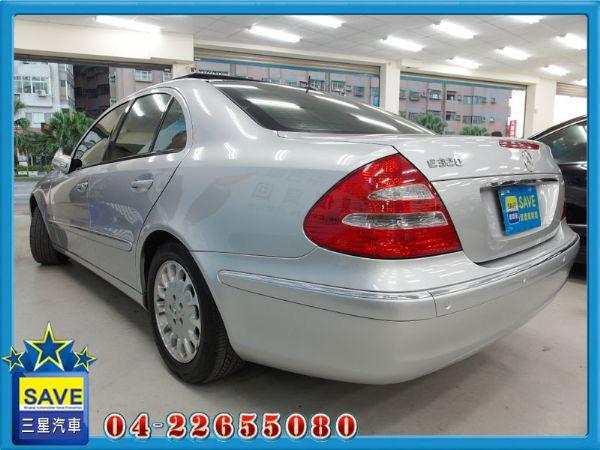Benz E320 04年 頂級版 照片10