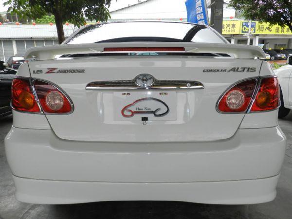 Toyota 豐田  Altis Z 白 照片10