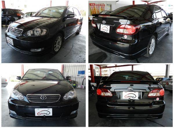Toyota 豐田 Altis 黑  照片7