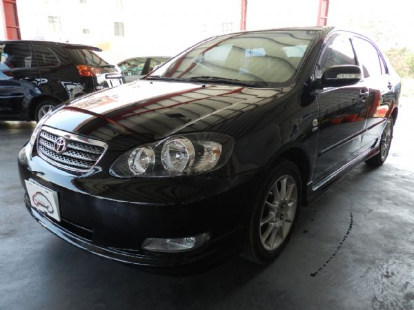 Toyota 豐田 Altis 黑  照片8