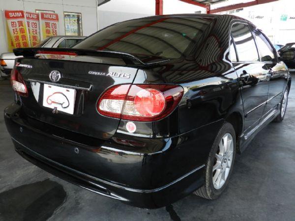 Toyota 豐田 Altis 黑  照片9