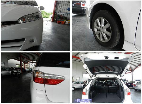 Toyota 豐田 WISH 白 2.0 照片6