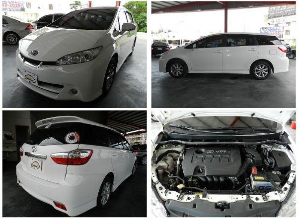 Toyota 豐田 WISH 白 2.0 照片7