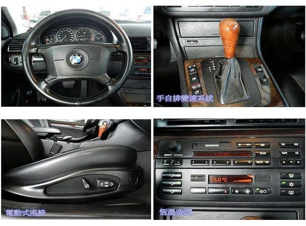 2000年 BMW 330 3.0 黑  照片4