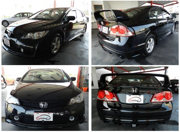 Honda 本田 Civic K12 黑 照片6