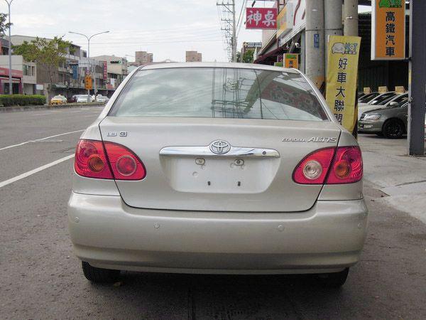 【高鐵汽車】2002 豐田 ALTIS  照片7