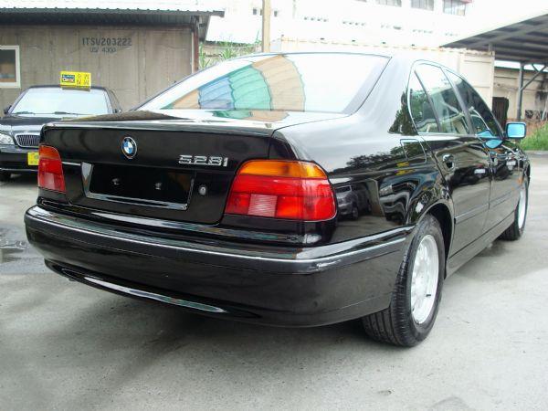 528IBMW寶馬98年E392.8黑 照片5
