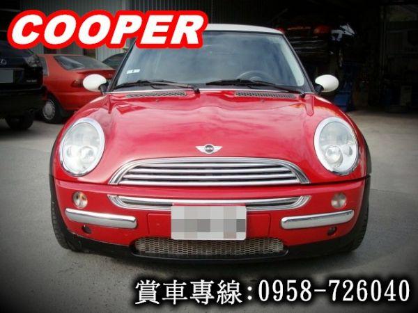 MINI COOPER 03年式1.6紅 照片3