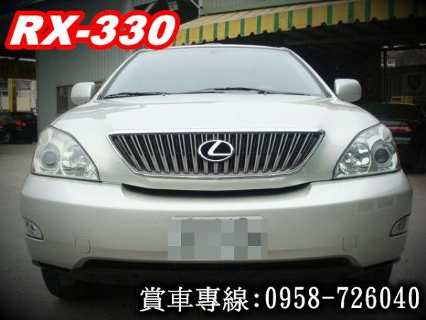 RX330 凌志 LEXUS 03年銀 照片2