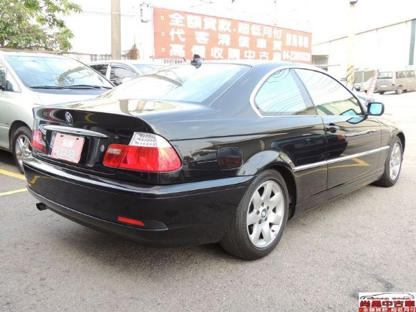 BMW 寶馬 318 Ci 黑 照片8