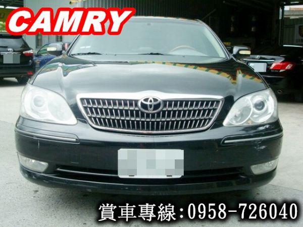 CAMRY 冠美麗 豐田 2004年黑 照片3