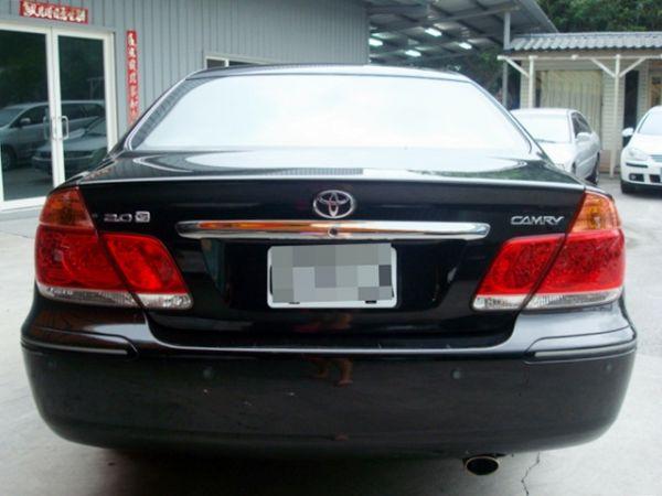 CAMRY 冠美麗 豐田 2004年黑 照片5