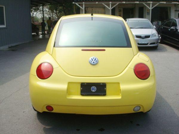 BEETLE金龜車 福斯VW 00年式黃 照片4