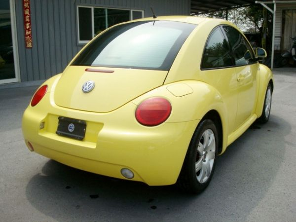 BEETLE金龜車 福斯VW 00年式黃 照片5