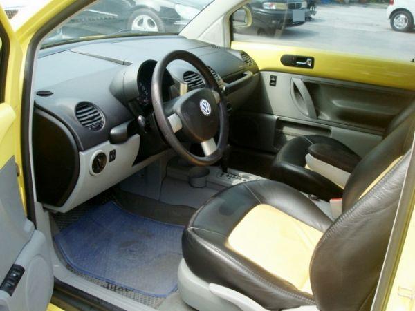 BEETLE金龜車 福斯VW 00年式黃 照片6