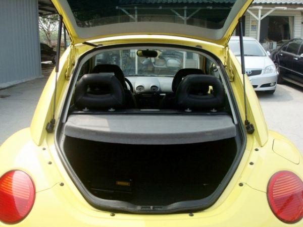 BEETLE金龜車 福斯VW 00年式黃 照片8