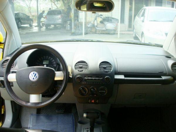 BEETLE金龜車 福斯VW 00年式黃 照片9