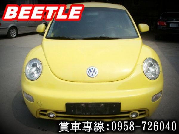 BEETLE金龜車 福斯VW 00年式黃 照片3