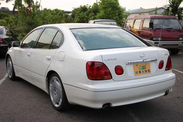 GS300 鋁圈 黑車頂 尊翔汽車 照片8