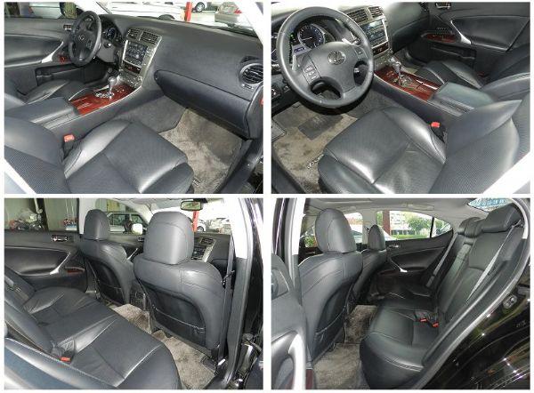 Lexus 凌志 IS250 黑  照片3