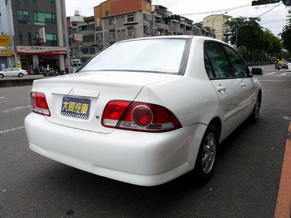 ★大同汽車★保證實車實價三菱Lancer 照片4
